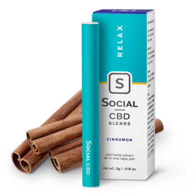 Select/Social Disposable Vape Pen Cinnamon