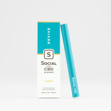 Select/Social Disposable Vape Pen Lemon
