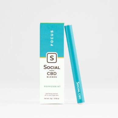 Select/Social Disposable Vape Pen Peppermint