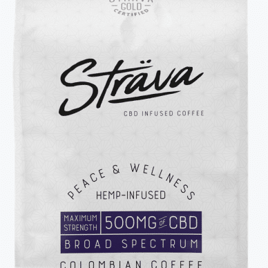 Strava Coffee Maximum Strength 500 mg CBD
