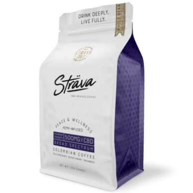 Strava CBD Coffee Medium Roast 500mg