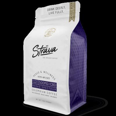Strava CBD Coffee Medium Roast 500mg