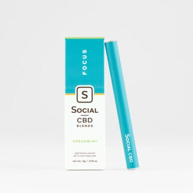 Select/Social Disposable Vape Pen Spearmint