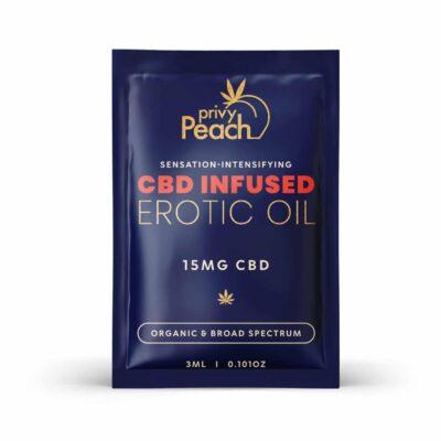 Privy Peach Topical Erotic Oil Single