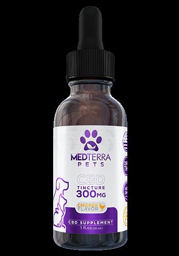 Medterra Pet Tincture 300mg Chicken Flavor
