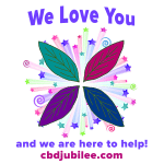 CBD Loves You Logo