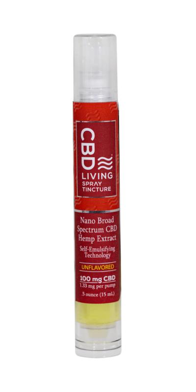 CBD Living Travel Tincture Spray 100mg