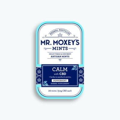 Mr. Moxey's Calm Mint Mini Tin