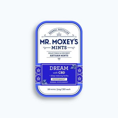 Mr. Moxey's Dream Mint Mini Tin