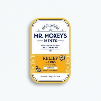 Mr. Moxey's Relief Mint Mini-Tin