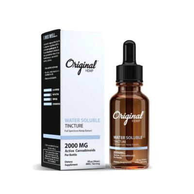 Original Hemp Water Soluble 2000 mg
