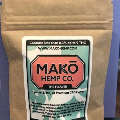 MAKO Hemp Flower Blueberry Pie 7 grams