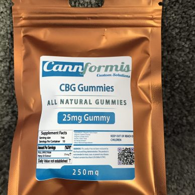 MHA CBD/CBG Sour Gummies 25mg