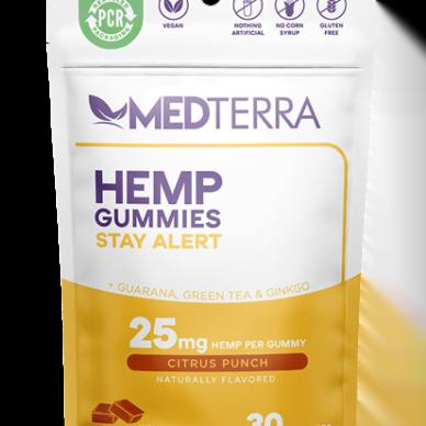 Medterra Gummies Stay Alert 25mg 30ct