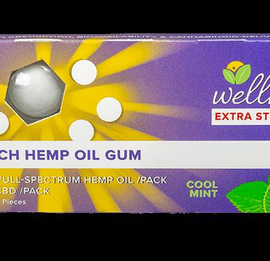Wellness Gum Extra Strength 10mg each