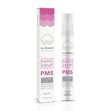 Nu Bloom Botanicals PMS Nano Spray 8ml