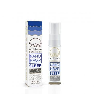 Nu Bloom Botanicals Nano CBD Sleep Spray 5 ml