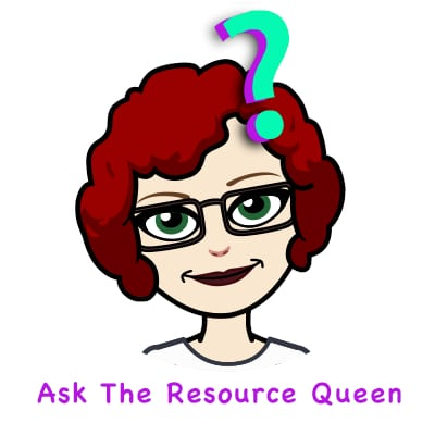Ask the Resource Queen logo square