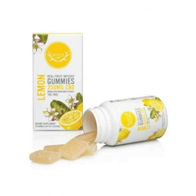 WYLD CBD Lemon Gummies 250mg 10ct