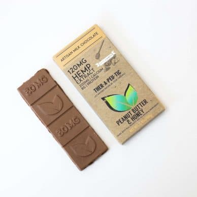 Therapeutic Treats Milk Chocolate with Peanut Butter & Honey