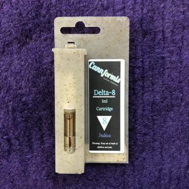 Cannformis Grandaddy Purple Cartridge Indica 1 ml