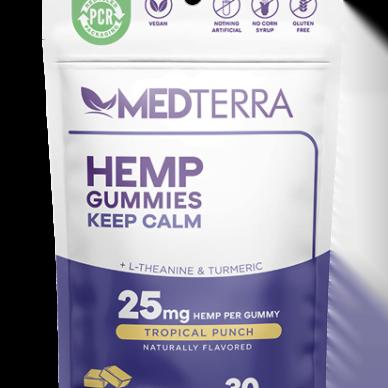 Medterra Gummies Keep Calm 25mg 30ct