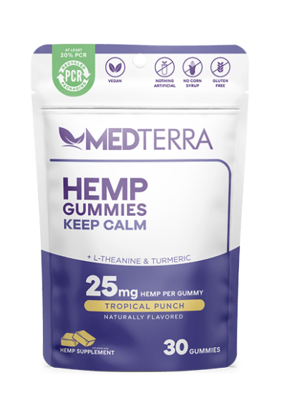 Medterra Gummies Keep Calm 25mg 30ct