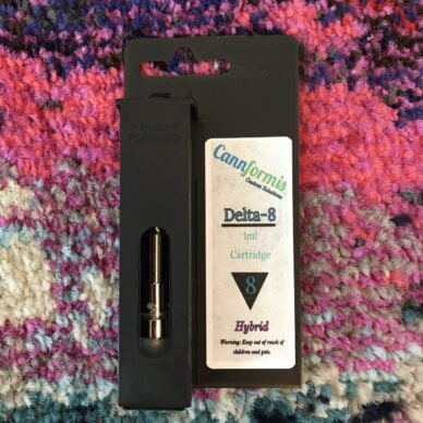 Cannformis Delta 8 Cartridge Thin Mint 1ml