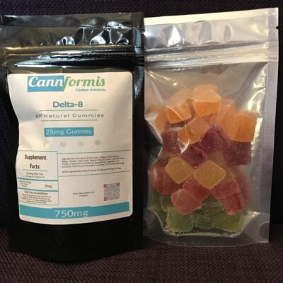 Cannformis Delta 8 Gummies Mixed Fruit 30ct