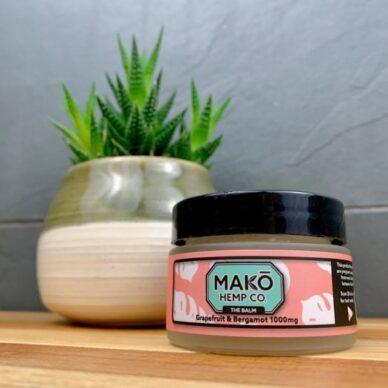 MAKO Hemp Pain Salve Grapefruit & Begamot 1000mg 1oz.