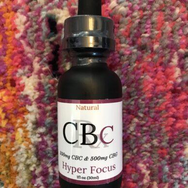 MHA CBC:CBG Tincture Natural