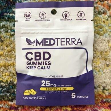Medterra Keep Calm Gummies 5ct