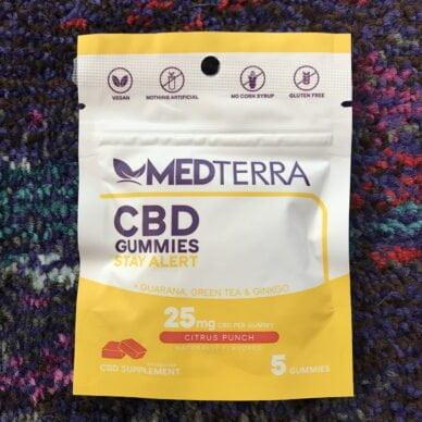 Medterra Stay Alert Gummies 5ct